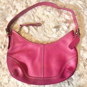 NWOT Coach Hot Pink Leather Soho Purse